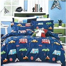 Omela Boys Blue Bedding Set Single Duvet Cover Set