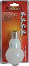 Omicron 5 Watt Compact Fluorescent Light Golfball