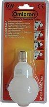 Omicron 5 Watt Compact Small Fluorescent Light