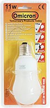 Omicron Classic GLS 11 Watt Compact Fluorescent