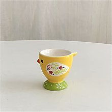 OMING Egg cup Ceramic Egg Cup Cute Animal Creative