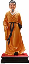 OMING Statues Chinese Feng Shui Buddha Statue Desk