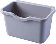 OMING Waste Bins Kitchen Cabinet Plastic Trash Can