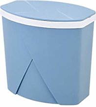 OMING Waste Bins Trash Can with Lid Household