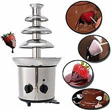 OMLTER 4 Tier Chocolate Fountain Automatic Melting