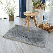 Ommda Faux Fur Sheepskin Rug for Living Room
