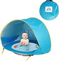 OMVOVSO Baby Beach Tent, Pop-Up Baby Beach Tent