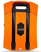 OMVOVSO Foldable Handcar, Orange High Performance