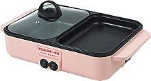OMVOVSO Portable electric grill, shabu-shabu bake
