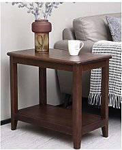 OMYLFQ Coffee Table Pure Solid Wood Coffee Table