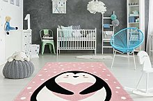 One Couture Children's Rug Penguin Animal