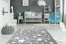 One Couture Children Carpet Star Motif Kid's