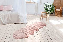 One Couture Faux Fur Rug Look Soft Cuddly Cosy