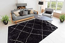 One Couture High Hair Carpets Black Berber Search