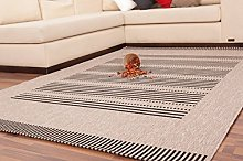 One Couture Modern Low-Pile Carpets Stripe Design