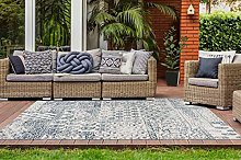 One Couture Outdoor Carpet Patchwork Ethno Design
