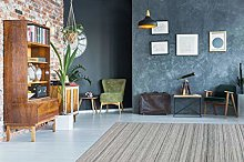 One Couture Rug 120cm x 170cm grey