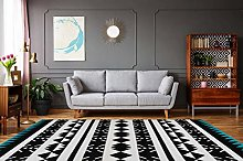 One Couture Rug 200 cm x 290 cm blue