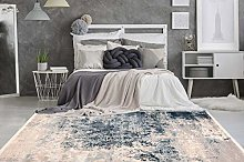 One Couture Rug 80 x 150 cm Multi / Blue