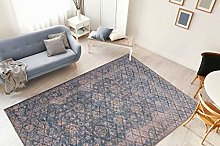 One Couture Rug Diamond Pattern Vintage Design