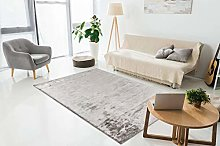 One Couture Rug Modern Silky Shimmer Living Room