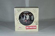 One Direction Swivel Mirror & Clock - Gift Box