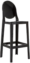 One more Bar chair - H 75cm - Plastic by Kartell