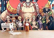 ONE Piece 3D Animation boy Wallpaper Art Room