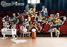 ONE Piece 3D Wallpaper Mural Cartoon Anime Boys