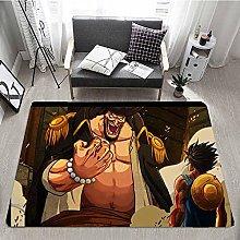 One Piece Floor MatcartoonKitchen Rug Piece Floor