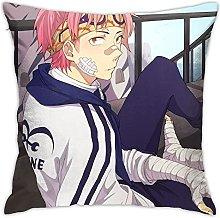 One Piece Movie Square Pillowcase Soft Plush