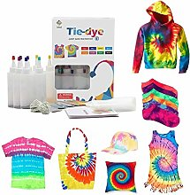 One-Step Tie-dye DIY Kit With Rubber Bands Gloves,