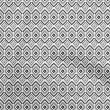 oneOone Cotton Flex Black Fabric Ikat Ikat Fabric
