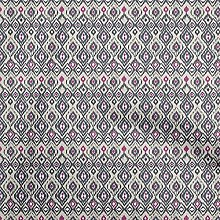 oneOone Cotton Flex Dusty Gray Fabric Ikat Ikat