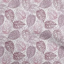 oneOone Cotton Flex Dusty Rose Fabric Leaves