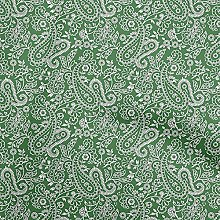 oneOone Cotton Flex Forest Green Fabric Block