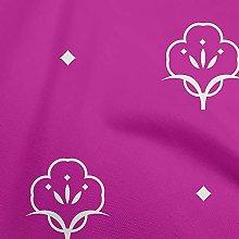 oneOone Cotton Flex Fuschia Pink Fabric Block