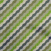 oneOone Cotton Flex Green Fabric Patchwork