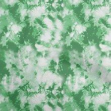 oneOone Cotton Flex Green Fabric Tie Dye Tie & Dye