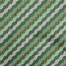 oneOone Cotton Flex Olive Green Fabric Patchwork