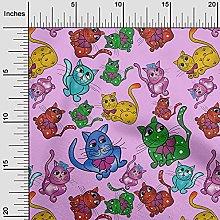 oneOone Cotton Poplin Twill Dusty Purple Fabric