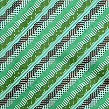 oneOone Georgette Viscose Forest Green Fabric