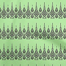 oneOone Georgette Viscose Lime Green Fabric Block
