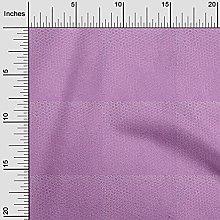 oneOone Rayon Dusty Purple Fabric Animal Skin
