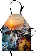 onepicebest Bib Apron Sunset Apron, View Over The