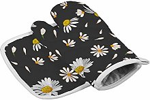 onepicebest Oven Mitts And Pot Holder, Oven Gloves