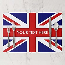 onepicebest Placemat, British Union Jack Flag