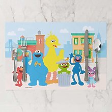 onepicebest Placemat, Sesame Street Neighborhood