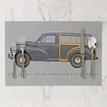 onepicebest Placemats, Washable Morris Minor
