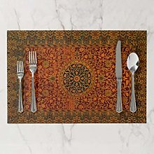 onepicebest Placemats, Washable William Morris